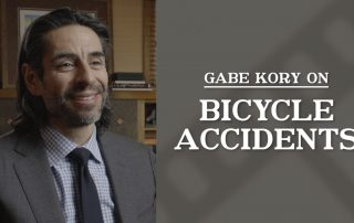Gabriel V. Kory on Bicycle Accidents
